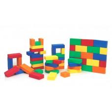 벽돌 적목 /30m/m*160m/m*40m/m 55개 유아원 유치원 창의력 구성력 우수