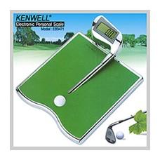 카미(KenWell) 디지털 스퀘어 골프 디자인 체중계 EB-3471