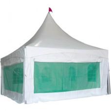 몽골텐트 쫄탑모기장벽면(5M*5M)풀세트/몽골천막/모기장벽면+미다이문출입구+연기기배출기