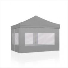 알루미늄 캐노피텐트 32mm (1.5m*1.5m)벽면포함형/캐노피천막 /집회.주차장.운동회.야유회.포장마차.종교행사용