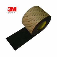 한국쓰리엠(3M)논슬립테이프(100mm x 18M)/흑색,회색,갈색,청색,녹색,적색,노랑색