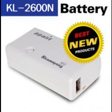 휴대용 대용량 보조배터리KL-2600N