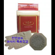 이진희 발효 한방 미용비누/발명특허제품/삼베타올증정