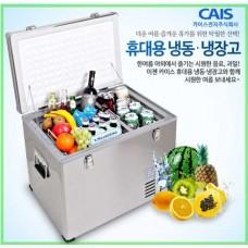 차량용 냉장냉동고 CA-B-45D /스텐타입 44L