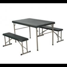 AT-BF3-R야외 레저용 테이블 (의자+테이블 세트) [미국 라이프타임 정품] L1070 × W660 x H710 /mm