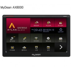 Mydean AX8000/8인치아틀란V4 3D앱적용/매립거치/SLINK