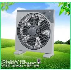 12인치 사각 박스팬 탁상형 5엽 타이머 예약 CMK-12F 책상 데스크 냉풍기