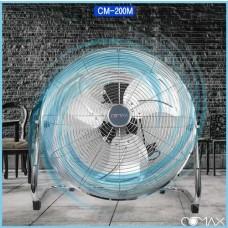 [코멕스]CM-200M 대형 메탈데스크팬 50CM 5엽날개 산업용대형데스크팬 공업용선풍기 업소용선풍기