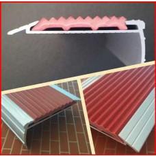 알미늄pvc논슬립AL-601(60mmx25mm)1m기준/주공아파트계단보수용