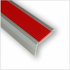알미늄pvc논슬립AL-602(60mm*33mm)1m기준/주공아파트계단보수용