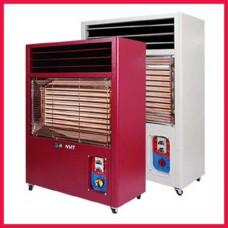 원적외선 전기 온풍기HV-7300/원적외선/토출구조절/정화기능