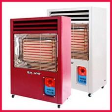 원적외선 전기 온풍기 HV-3350 국내최대30cm 대용량열판 사용 26.4~42.9㎡