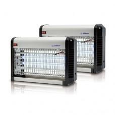 (파리대왕 )전자 전격 살충기 20~25평 (옥내용) HV-325KL (그레이&블랙) 【 간편 설치 】