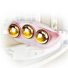 욕실용 히터 HV-4933 (3구) 순간발열 난방기 무공해,청결난방