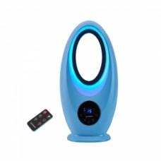 날개 없는 선풍기 HV-335VR(블루) 6가지 LED 무드램프!! 아이 공부방 안전성 최고!!