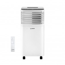 이동식 에어컨 (리모컨) 10평형 (실외기 필요없이 설치가능) HV-12000BTU (화이트) 【 냉방/제습/송풍 】