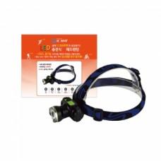 1200루멘 LED 충전 줌 헤드랜턴 HV-23HD