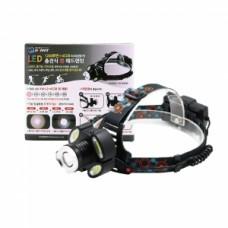1200 루멘+4COB LED 충전 줌 헤드랜턴 HV-26HD