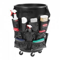 브루트 컨테이너용 캐디백 (다용도수납) 검정색